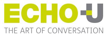 Echo U logo