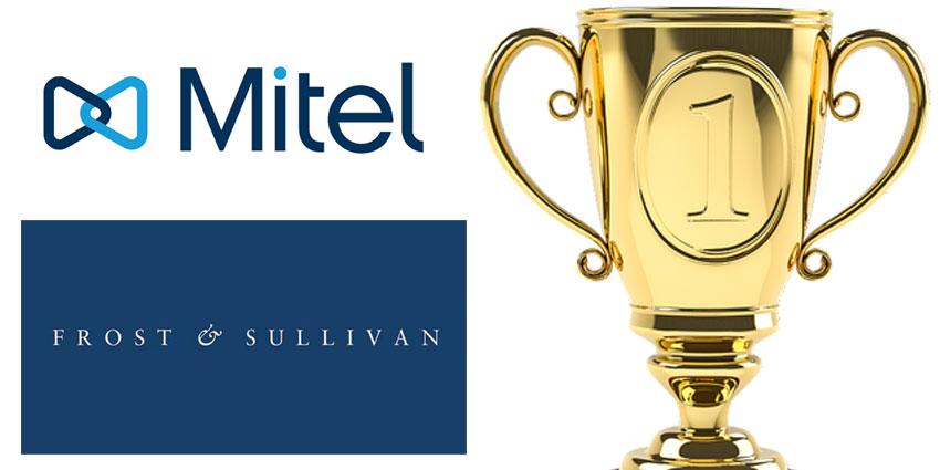 Frost & Sullivan Recognise Mitel's Leadership in UC&C
