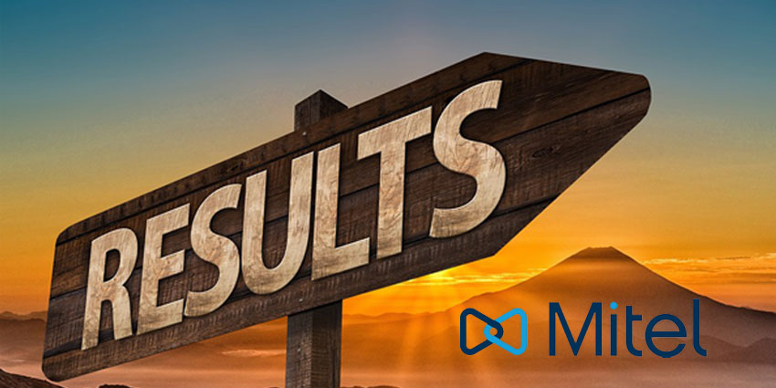 Mitel Reveals Positive Results for Q2 of 2018