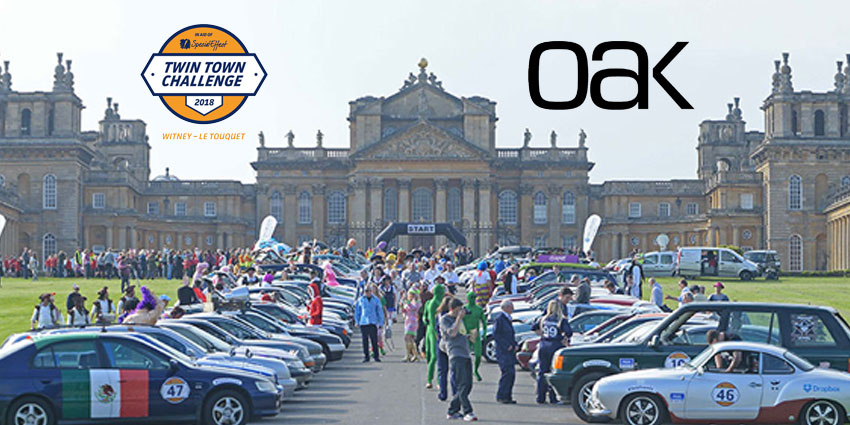 Oak Innovation Heads for France in a £500 Car for SpecialEffect Charity
