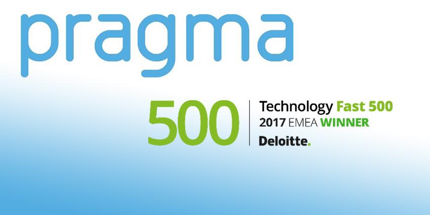 Pragma Ranked 419th in Deloitte 2017 Technology EMEA Fast 500