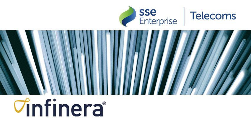 SSE Enterprise Implements Infinera to Deliver Dark Fibre-like Network across UK