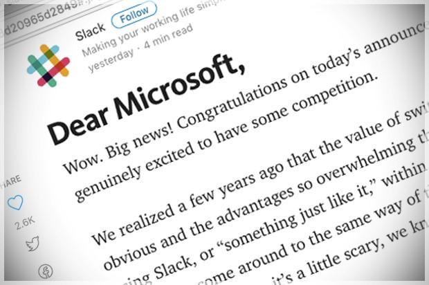 Slack Open Letter