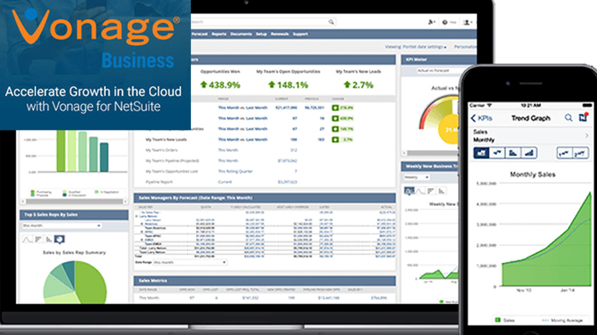 """Vonage for NetSuite Achieves """"Built for NetSuite"""" Status"""