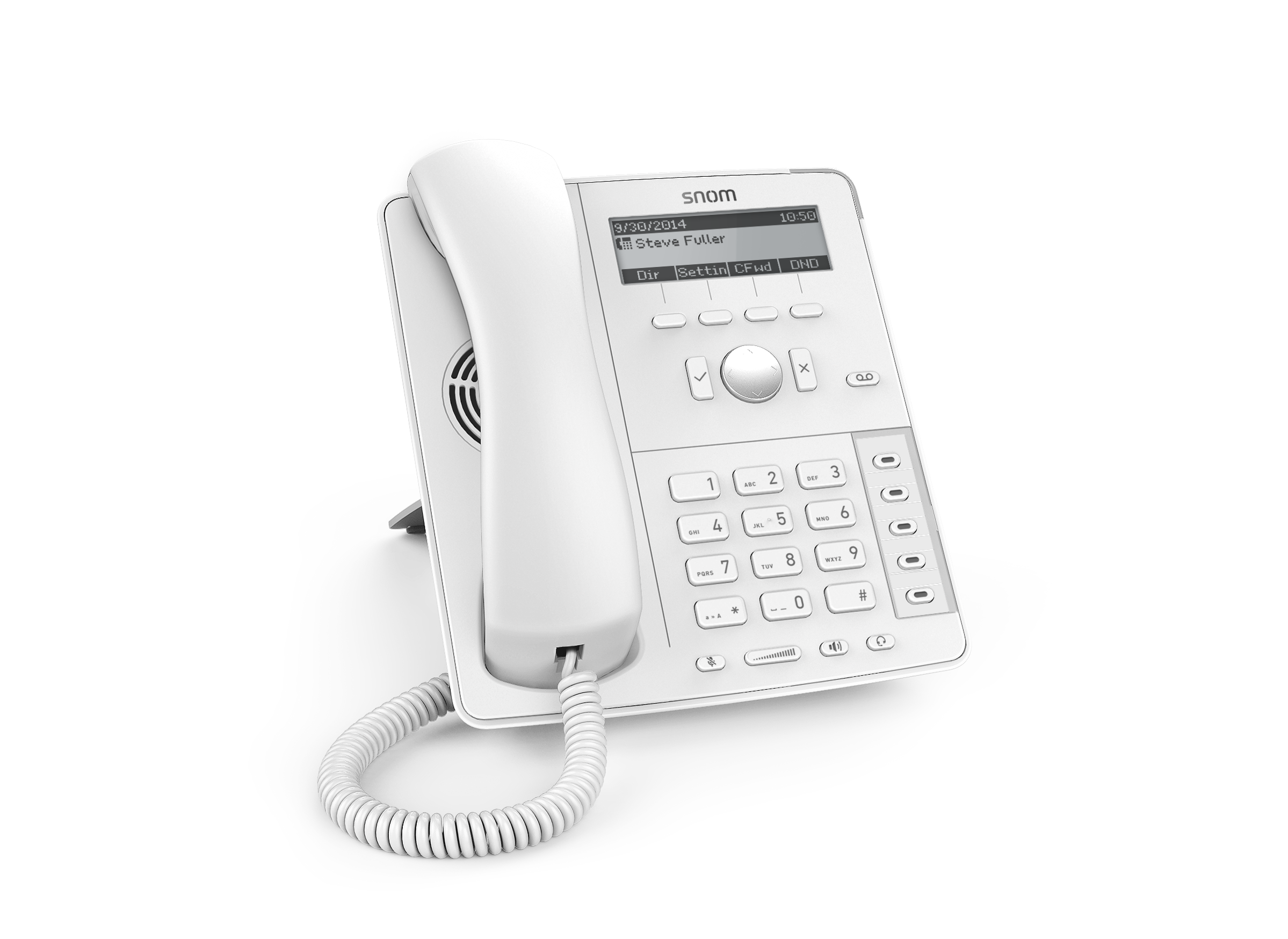 Snom D715 IP Phone in White