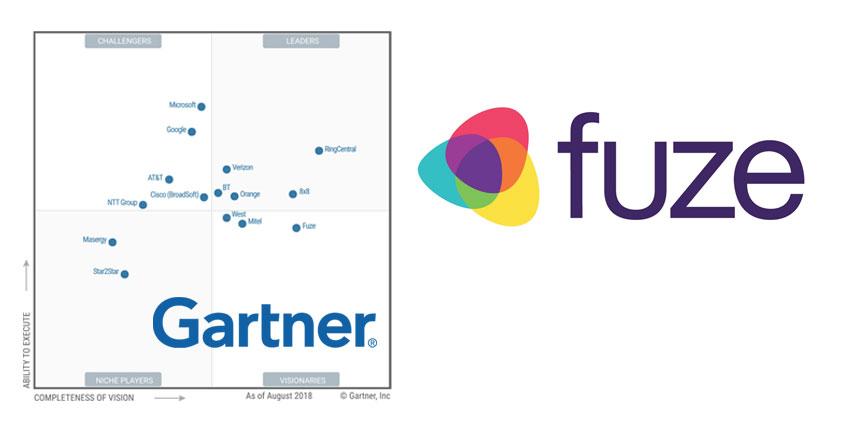 Fuze Achieves Visionary Position in Gartner Magic Quadrant for UCaaS