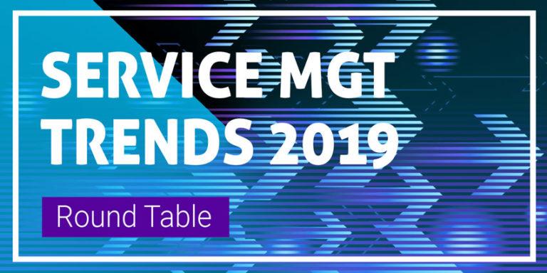 Service Management Trends 2019