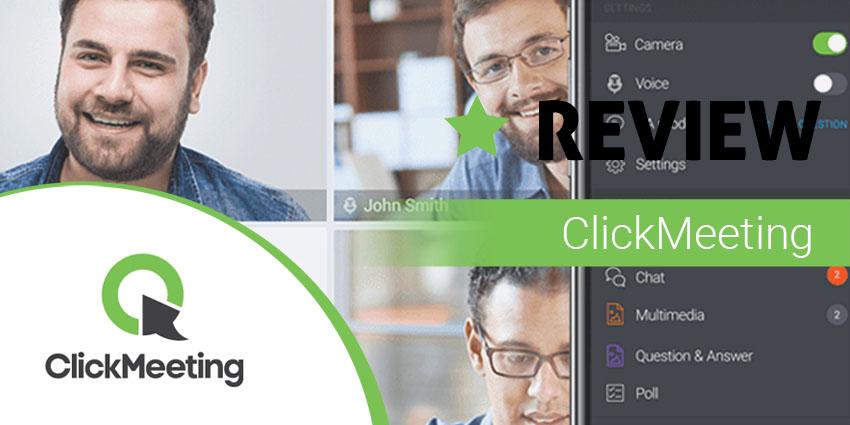 ClickMeeting Review: Run Custom Webinars Your Way