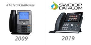 10 Year Challenge Swoop Datacom