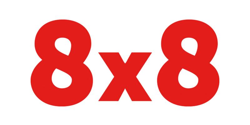 8×8 logo