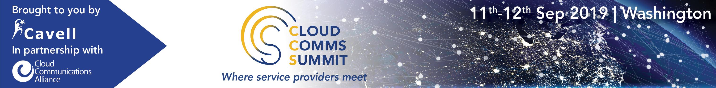 Cloud Comms Summit in Washington