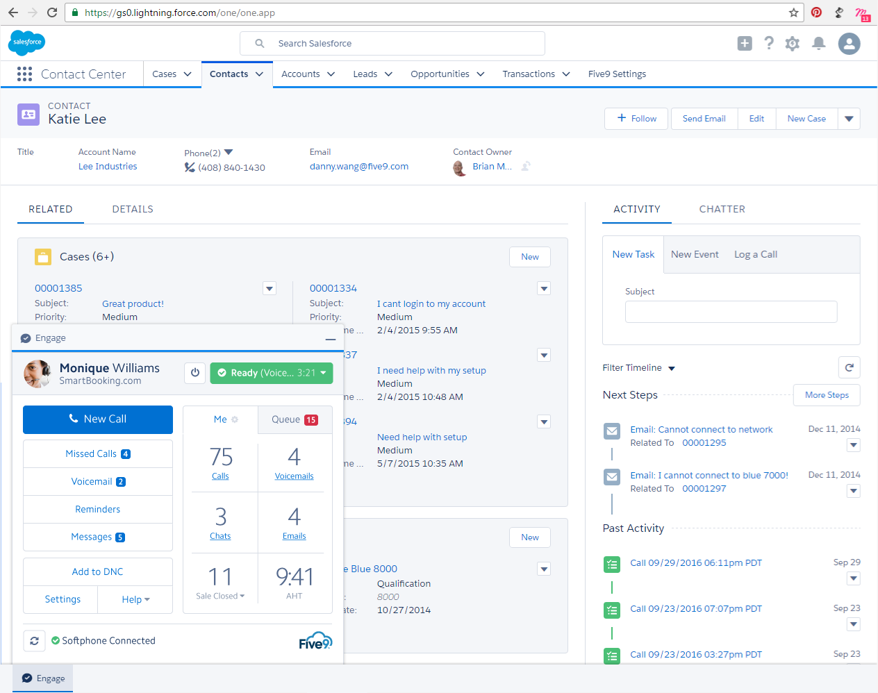 Five9 Salesforce Integration