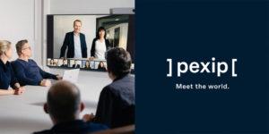 Pexip New Brand Meet World