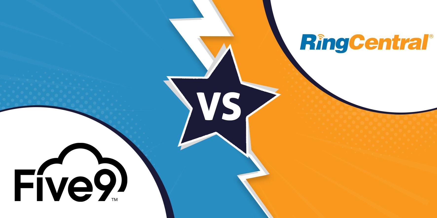 Five9 vs. RingCentral Contact Centre Comparison 2019