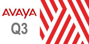 Avaya Q3 Results