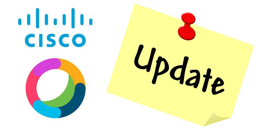 Cisco Delivers Webex Teams Design Update