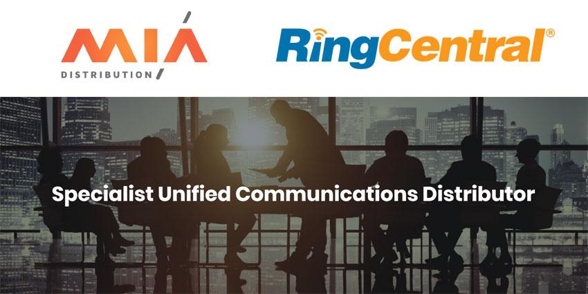 Mia Distribution Celebrates Partnership with RingCentral