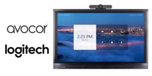 Avocor Logitech Zoom Rooms