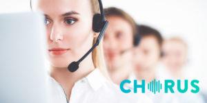 Chorus Sales team CC Stacks Up
