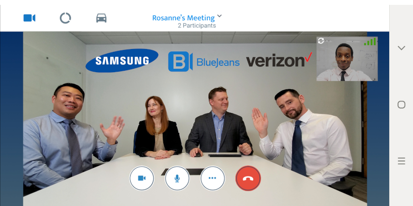 New BlueJeans Agreement Equals 5G Mobile Conferencing