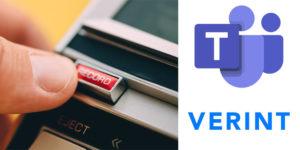 Microsoft Teams Verint Call recording