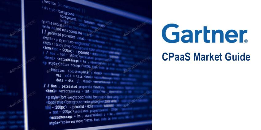 The Gartner Market Guide for CPaaS