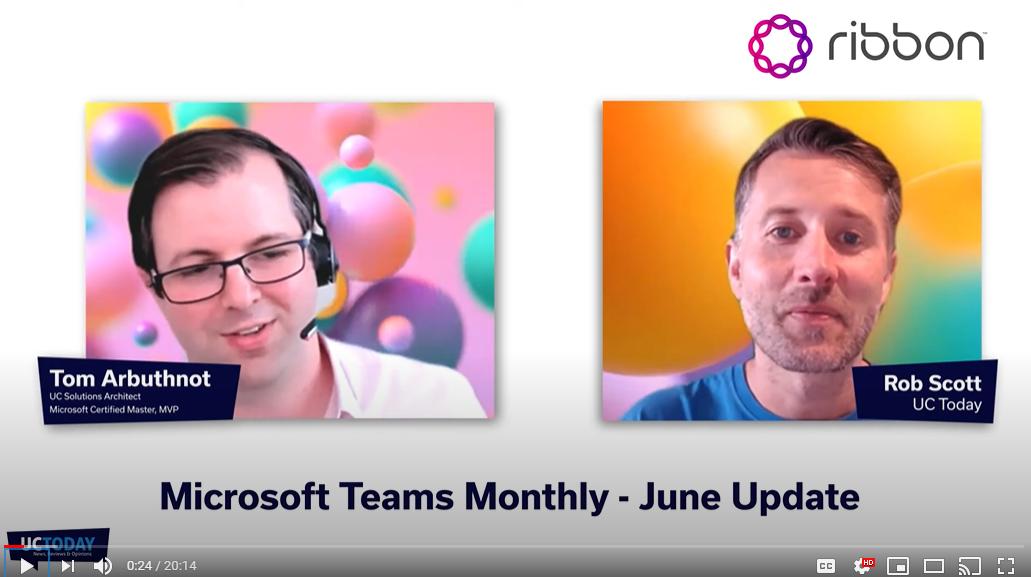 Microsoft Teams June Update