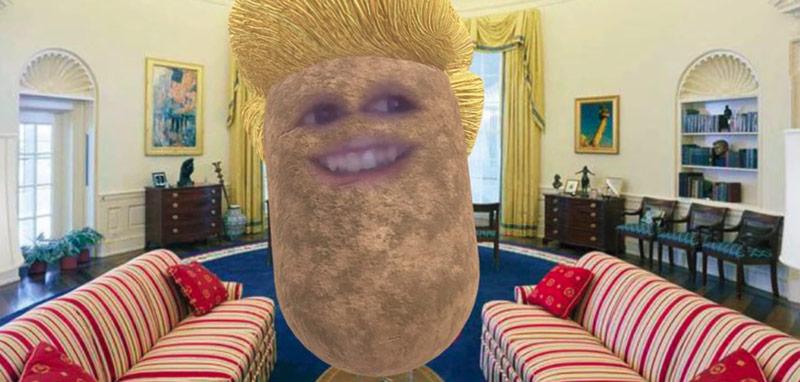 President Trump Potatus
