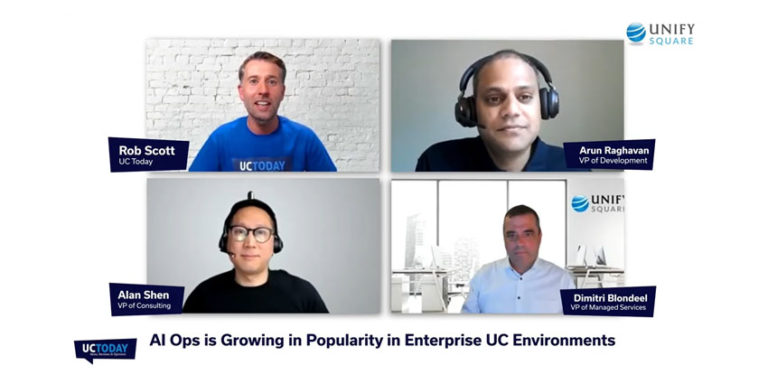 AI Ops is Growing in Popularity in Enterprise UC Environments