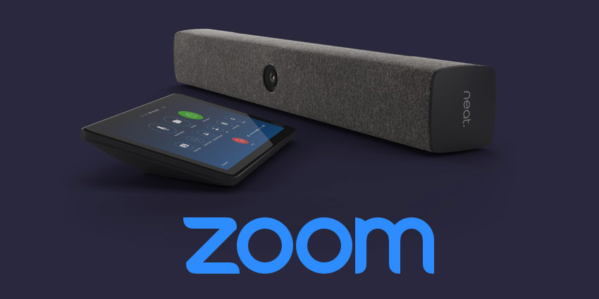 Neat Devices Available to Zoom Customers Globally Through Hardware Subs Service