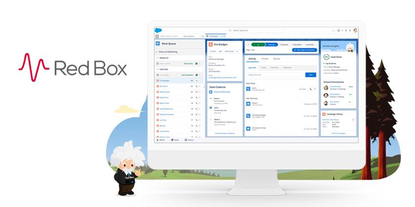 Red Box Launches Salesforce Einstein Integration