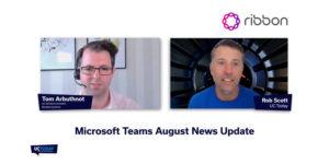 Microsoft Teams August Update 2020