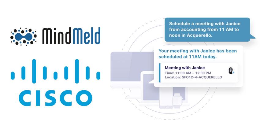 Cisco MindMeld and Conversational AI