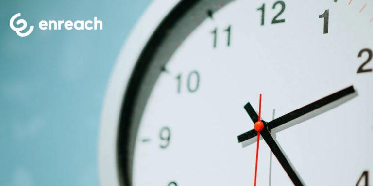 Enreach centile sponsored clock
