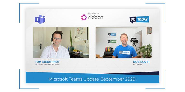 Microsoft Teams SEPTEMBER Update (2020)