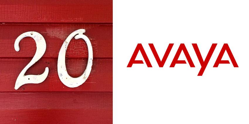 Avaya Celebrates its 20th Anniversary