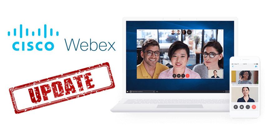 Webex October Update: What's New in Webex?
