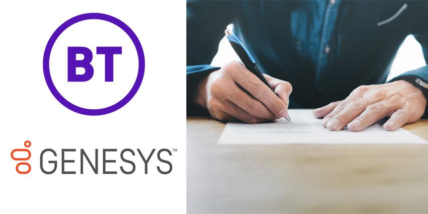 Genesys Enhances Global Cloud CX Partnership with BT