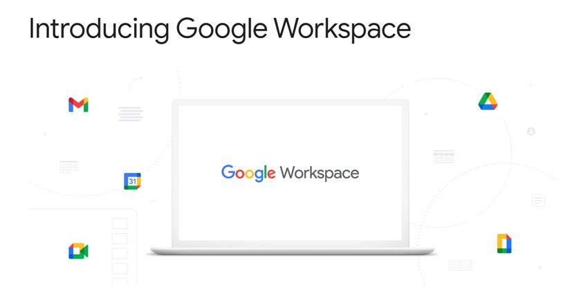 Google G Suite Becomes Google Workspace