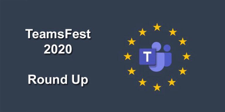 TeamsFest-2020-Round-Up