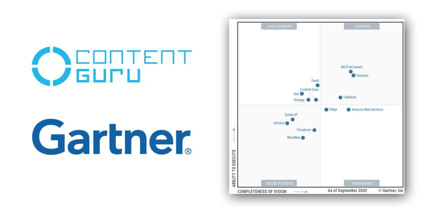 Content Guru Recognised by Leading Industry Analyst Gartner