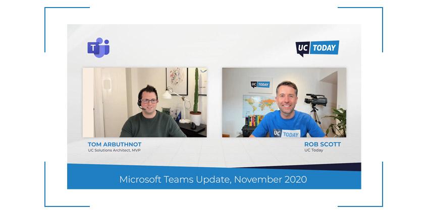 Microsoft Teams November Update 2020
