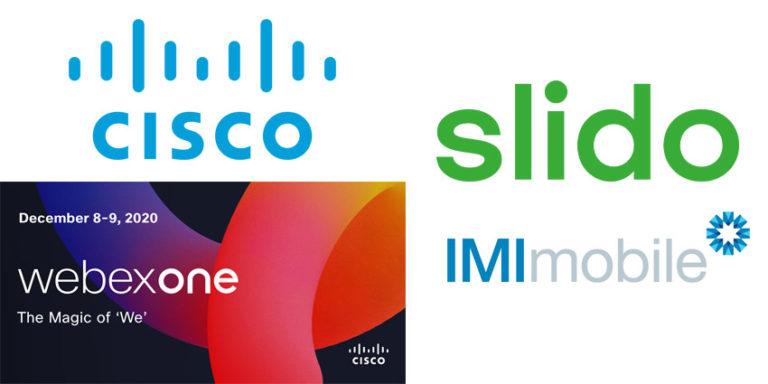 Cisco-WebexOne-Slido-IMImobile