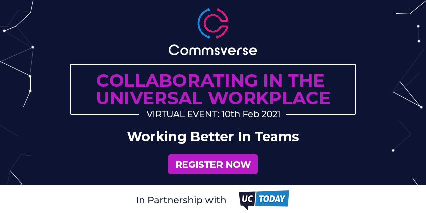 UC Today Partners with Commsverse for Microsoft Teams Virtual Events
