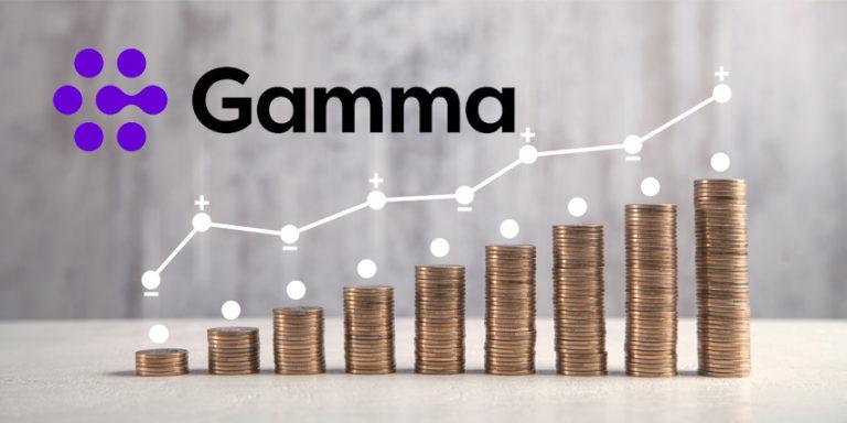 Gamma profit rise