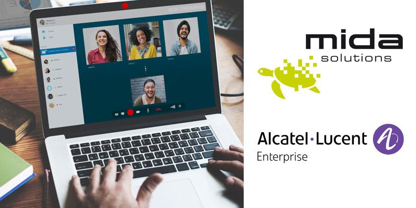 Mida Recorder Gains Alcatel-Lucent Enterprise Certification