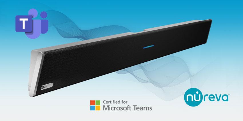 Nureva HDL300 Earns Microsoft Teams Certification
