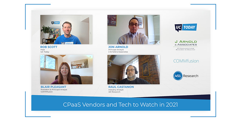CPaaS Vendors and Tech to Watch in 2021