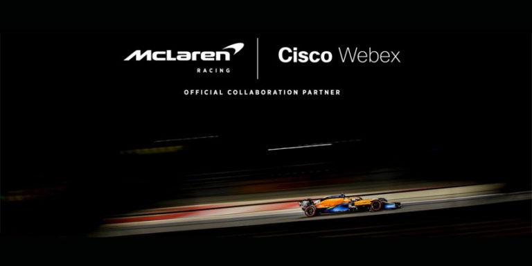 McLaren Formula 1 Partners with Cisco Webex