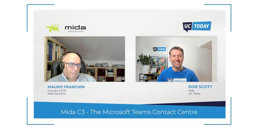 Mida C3 – The Microsoft Teams Contact Centre